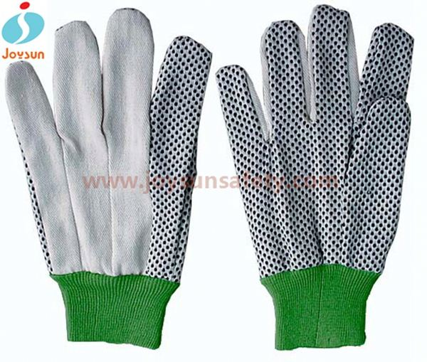 High quality Working cotton gloves for dry hands red