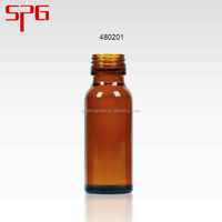 Wholesale china products amber glass bottles 20ml bottle syrup