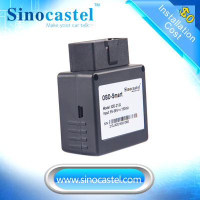 OBD GPS solution 2G GSM obd gps telematics with speed alarm and fuel consumption
