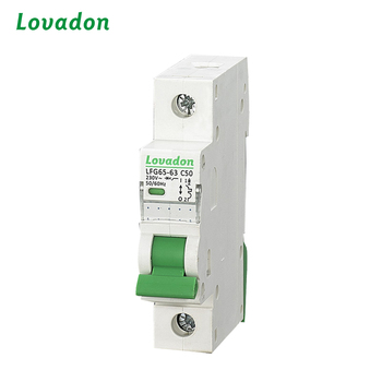 20A Circuit Breaker Single Pole Thermal Type Miniature Circuit Breaker