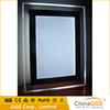 Ultra slim clear crystal LED light box LED display board advertising LED picture frame