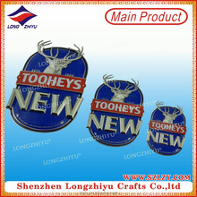Tooheys Beer Custom Chrome Car Badges Emblems With 3D Letters Car Logo