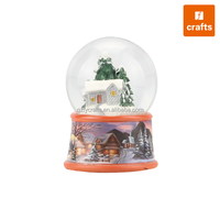 Resin crafts Christmas decorations made in China