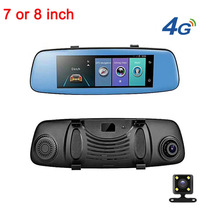 7/8/9 inch 4G Android Motorcycle Rear View Camera Rearview Car Mirror Dash Cam