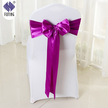 Cheap wedding chair cover sashes for chair cover