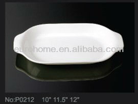 PS001 wedding banquet white china crockery
