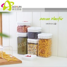 Plastic new design airtight dried food plastic container