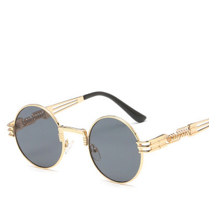 a1b31ad94bf New fashion trend sunglasses in Europe and America.Spring leg round framed  Sunglasses