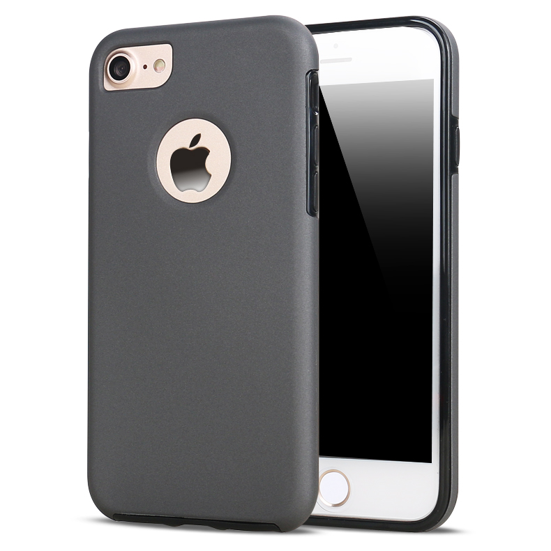 Guangzhou Factory Wholesale 360 Degree Slim Matte Full Plastic Back Cover Case+Glass Screen Protector For iPhone 6S