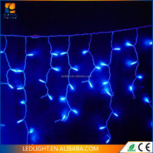 120V White LED Icicle Christmas Light Hanging items christmas home Window decoration