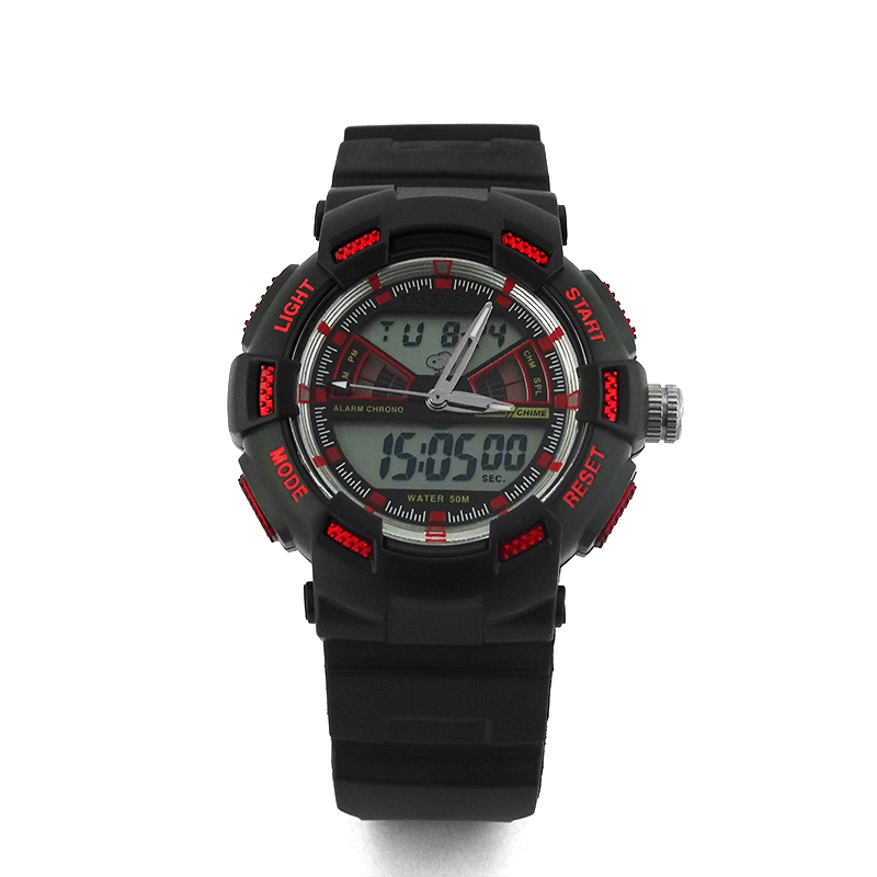 Hot Selling Sport Digital Waterproof Men's Watch