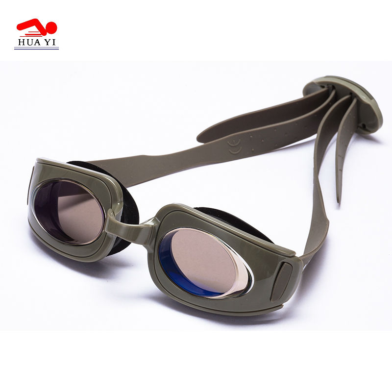 Adults wide vision anti uv great waterproof swimming goggles