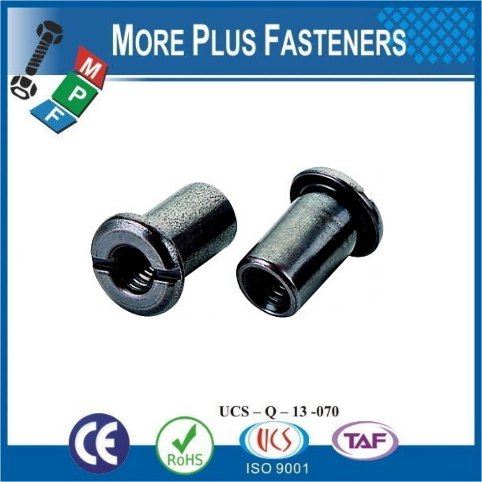 Made in Taiwan Hexagon Socket Tee Head Pan Washer Head Truss Head Hex Socket Slotted Joint Furniture Connector Nut
