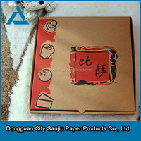 Dongguan Manufacturer Customized Pizza Box Cartons