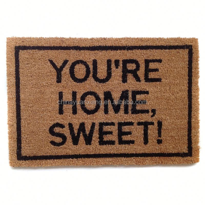 Best Selling Non Slip Coco Fibre Door Mat