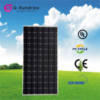 Hot Hot 25years warranty 300w monocrystalline solar panel with 1wp