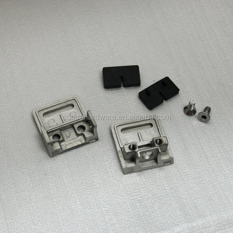Stainless steel glass clamp clip for glass railing & glass handrails& glass balustrades