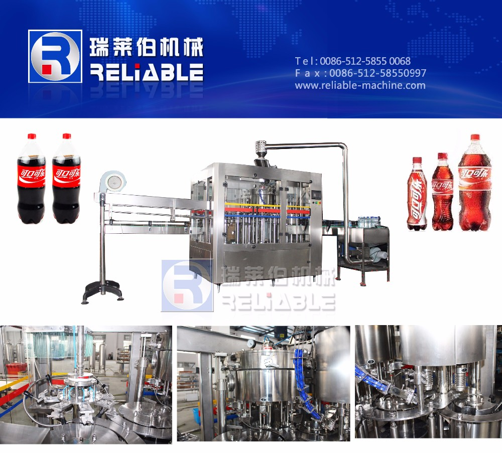 Good quality Reasonable price Sodas filling machine / equipment / assembly