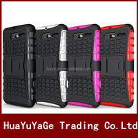 Heavy Duty TPU&PC soft Kickstand Combo phone cases cover for Motorola Droid Razr M XT907