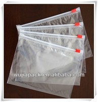 LDPE resealable plastic slider bag