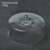 Clear glass cake cover/cake dome
