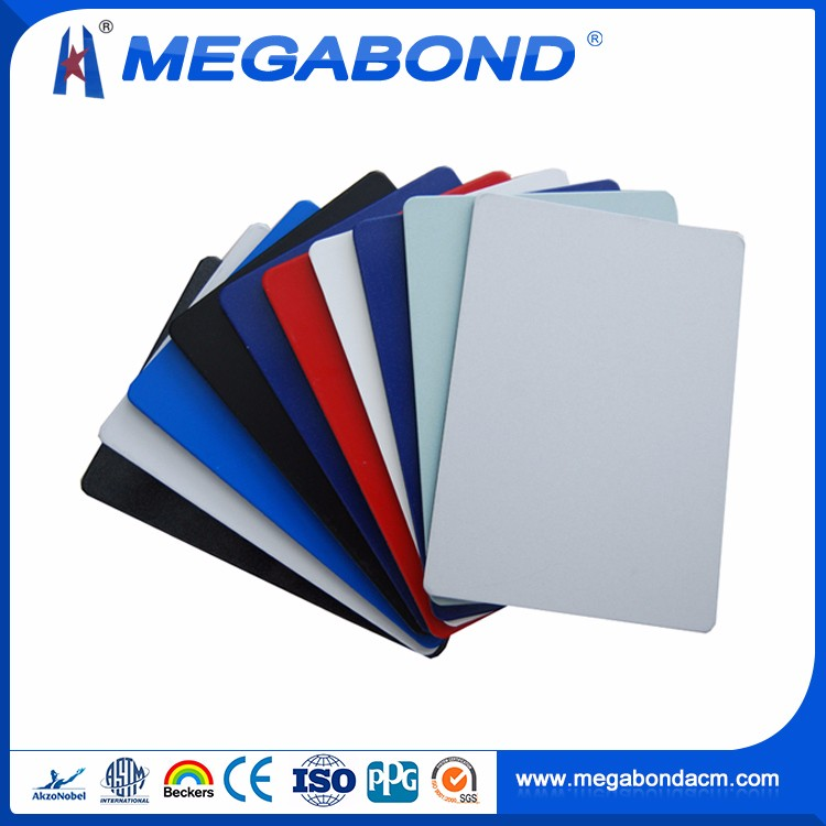 Megabond Aluminum ACP building decoration composite panel facade