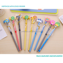 non-toxic HB pencils with lovely eraser head