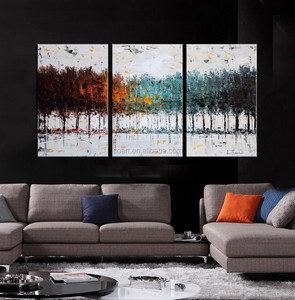 Modern Art Abstract Handmade Canvas Oil Painting Model