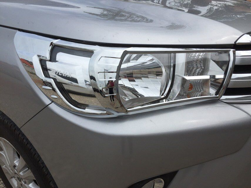 Cheap price products 100% perfect fit head/tail light cover for hilux revo 2015 2016