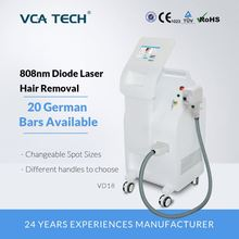 3 in 1-808nm + 755nm + 980nm diode laser ontharing