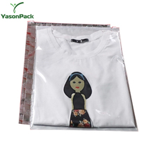 Transparent Slider Branded Clear Poly Laminated Large Zip Lock Plastic Clothing Bag