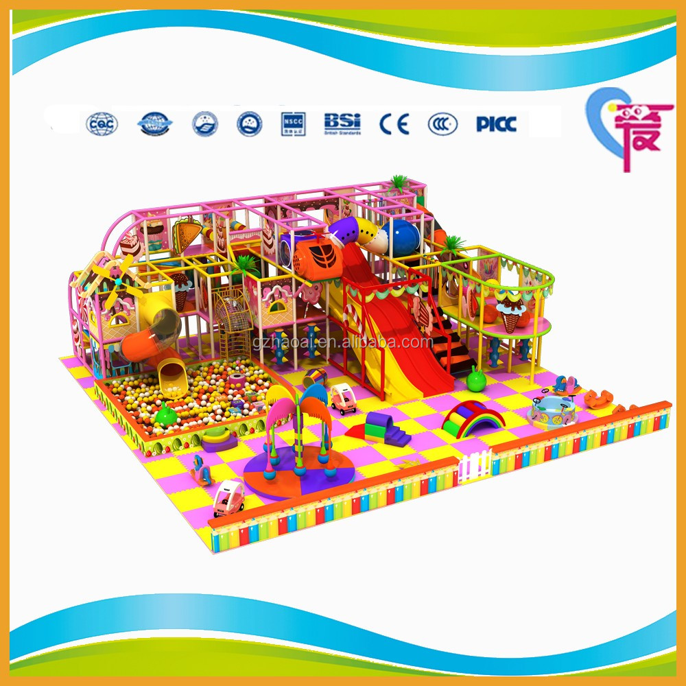 A-15339 Commercial Indoor Playground Type Rope Course Adventure Park for Sale