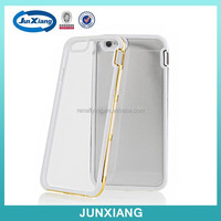 new coming smooth curved aluminum metal bumper phone case for apple iphone 6 4.7 cell phone case