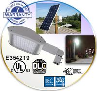 40W 80W magnetic induction solar power energy ENEC street light pole LED outdoor garden all in one solar ENEC street light