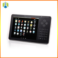 ARM pos system android touch screen mobile pos system with 4-nuclear core cortex-A9 processor