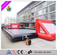 Wholesale Promotion new inflatable soccer field for outdoor games