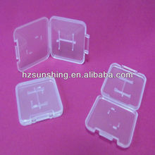 micro sd + adapter card plastic display box