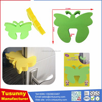 Creative cartoon bathroom door stopper for child / eva door finger pinch guard