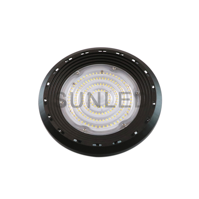 UL/DLC/<strong>CE</strong>/ROHS 140lm/w IP65 LED Pan High bay Light with microwave sensor