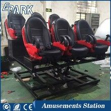 EPARK 5D 7D Flight Simulator theater system rider equipment Chair 4d Cinema Seat