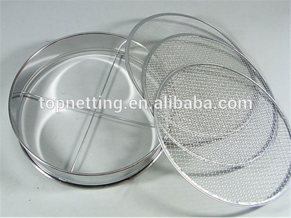 Stainless Steel 304 Square Hole Perforated Plate Test Sieve