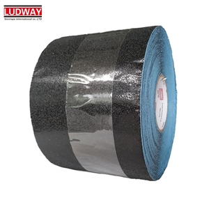 Temporary Insulation adhesive aluminum foil backed pavemen black anti slip marking tape