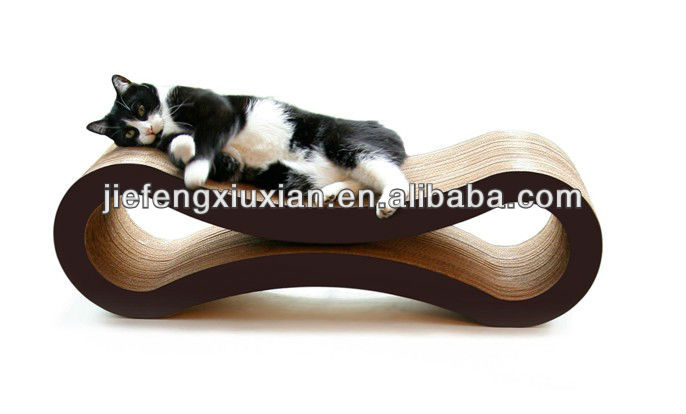 Popular Corrugated Cardboard Cat Scratcher,Cat Bed