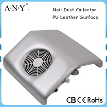 Professional Salon Equipment PU Leather Surface Fan Nail Dust Collector Vacuum