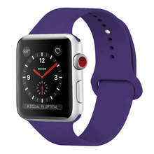 Shenzhen silicon band manufacturer for apple watch band silicone sport