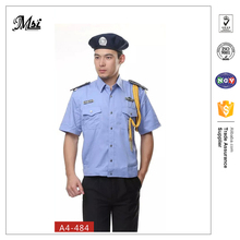 Wholesale comfortable unisex cheap security guard uniform officer gear