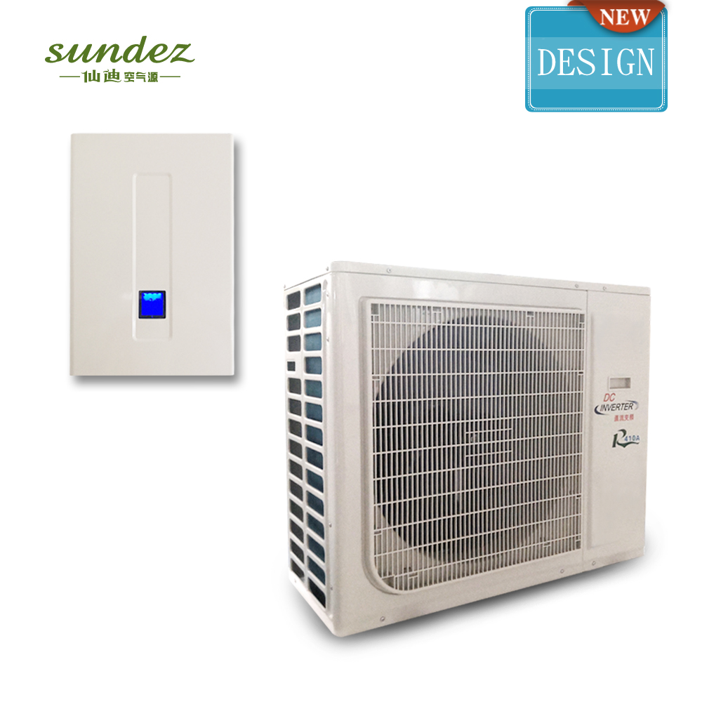 Ambient -25c Winter Dc Inverter Air Source Heat Pump for heating and cooling home 5KW to 20KW