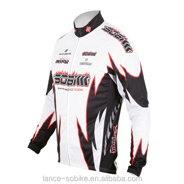 Man winter cycling jacket cycling wear