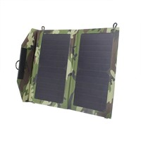 High efficiency 13W foldable solar panel mobile phone charger