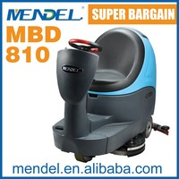 mendel MBD810 rider on concrete ceramic tile floor scrubber washing cleaning machine